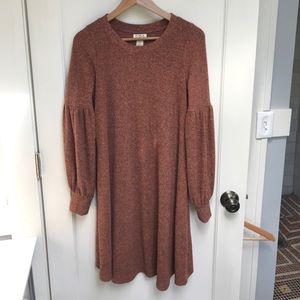 Mimi Maternity tunic sweater dress